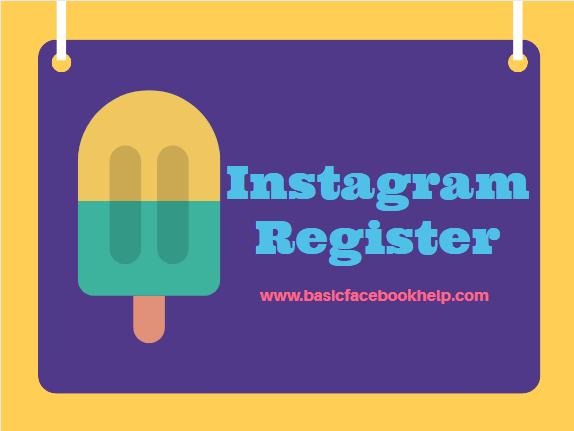 Instagram Register