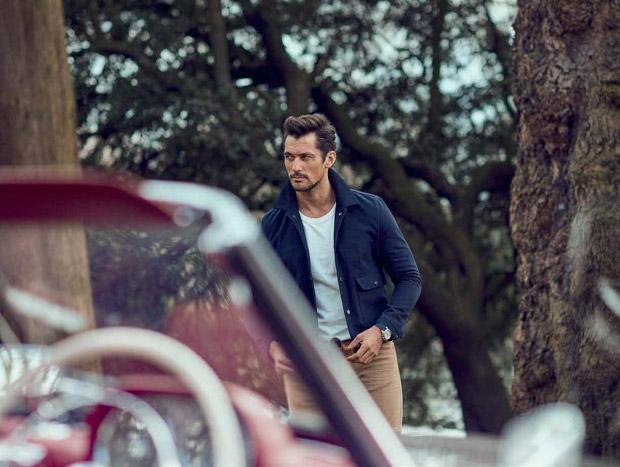 David Gandy, Goodwood, Magazine, supermodel, Tomo Brejc, photograpy, menswear, spring 2016, Suits and Shirts, lifestyle, luxury, cover, Telegraph Magazine, Larry King, Richard Pierce,
