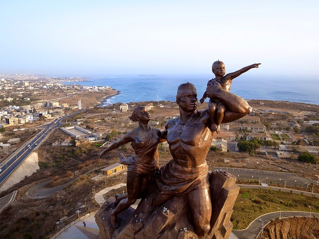 Senegal's Patriotic Symbol the African Renaissance Monument is to symbolize the achievement of Africa but some have serious issues with the nudity and symbolism of the 164-foot statue.