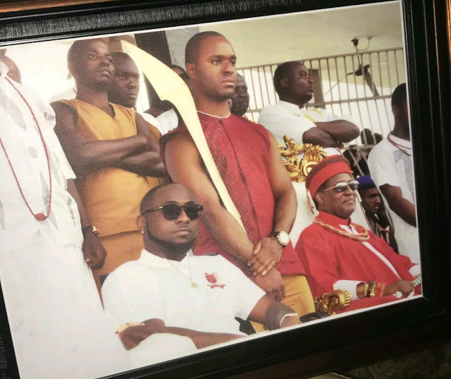 Davido shares the one photo he wishes his mum had seen before her death