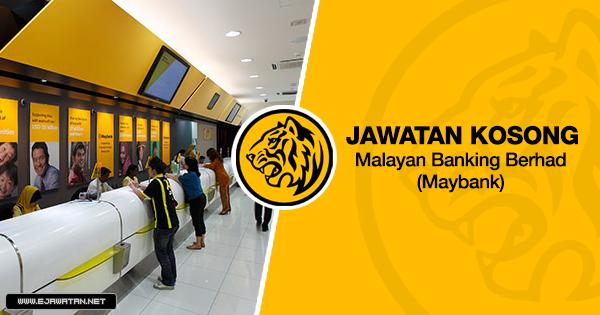 jawatan kosong terbaru maybank 2020
