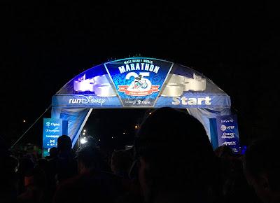 WDW Marathon start