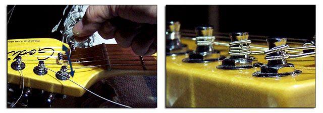 Cómo Cortar las Cuerdas de la Guitarra Eléctrica o Acústica