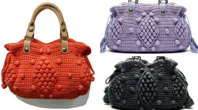 Bolso estilo Gerard Darel a Crochet