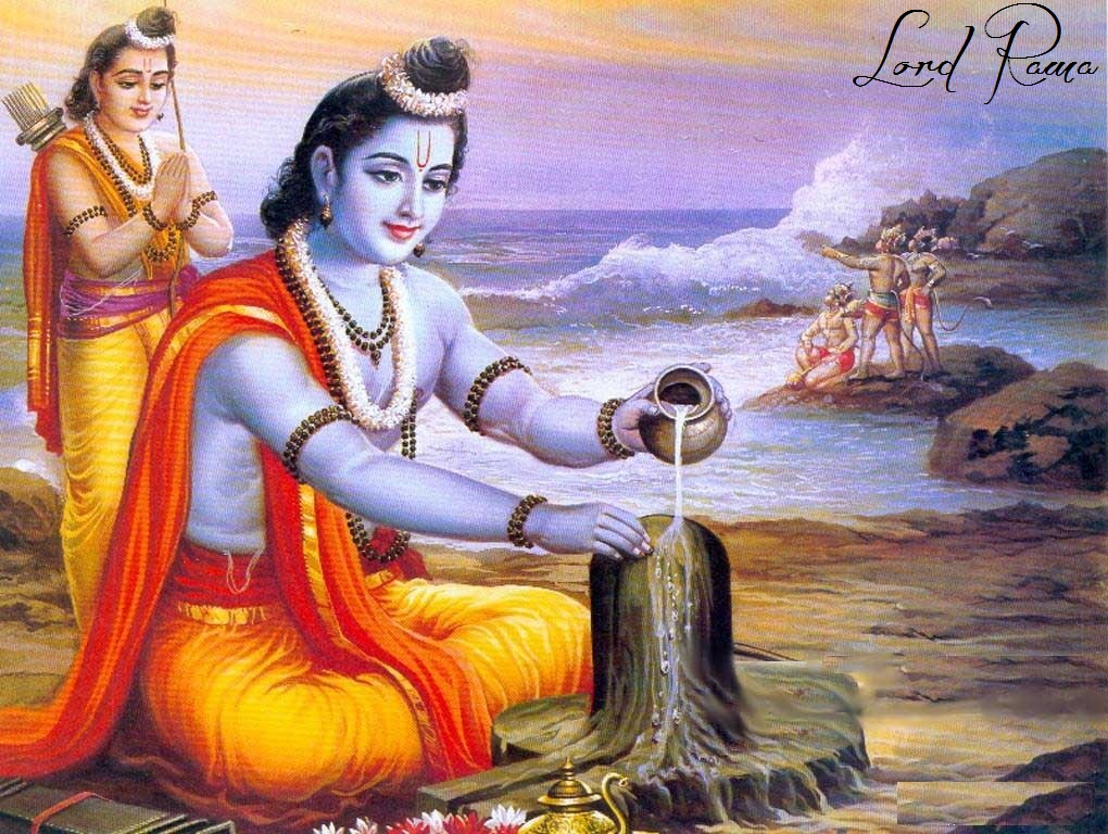 Lord Rama Painting Photo Images Wallpaper Pics