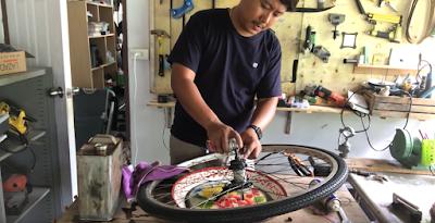 เทคนิคการเปลี่ยนยางจักรยานง่ายๆ