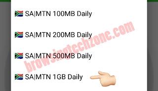 SA|MTN 1GB Daily