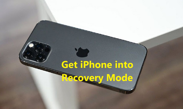 Get iPhone into Recovery Mode