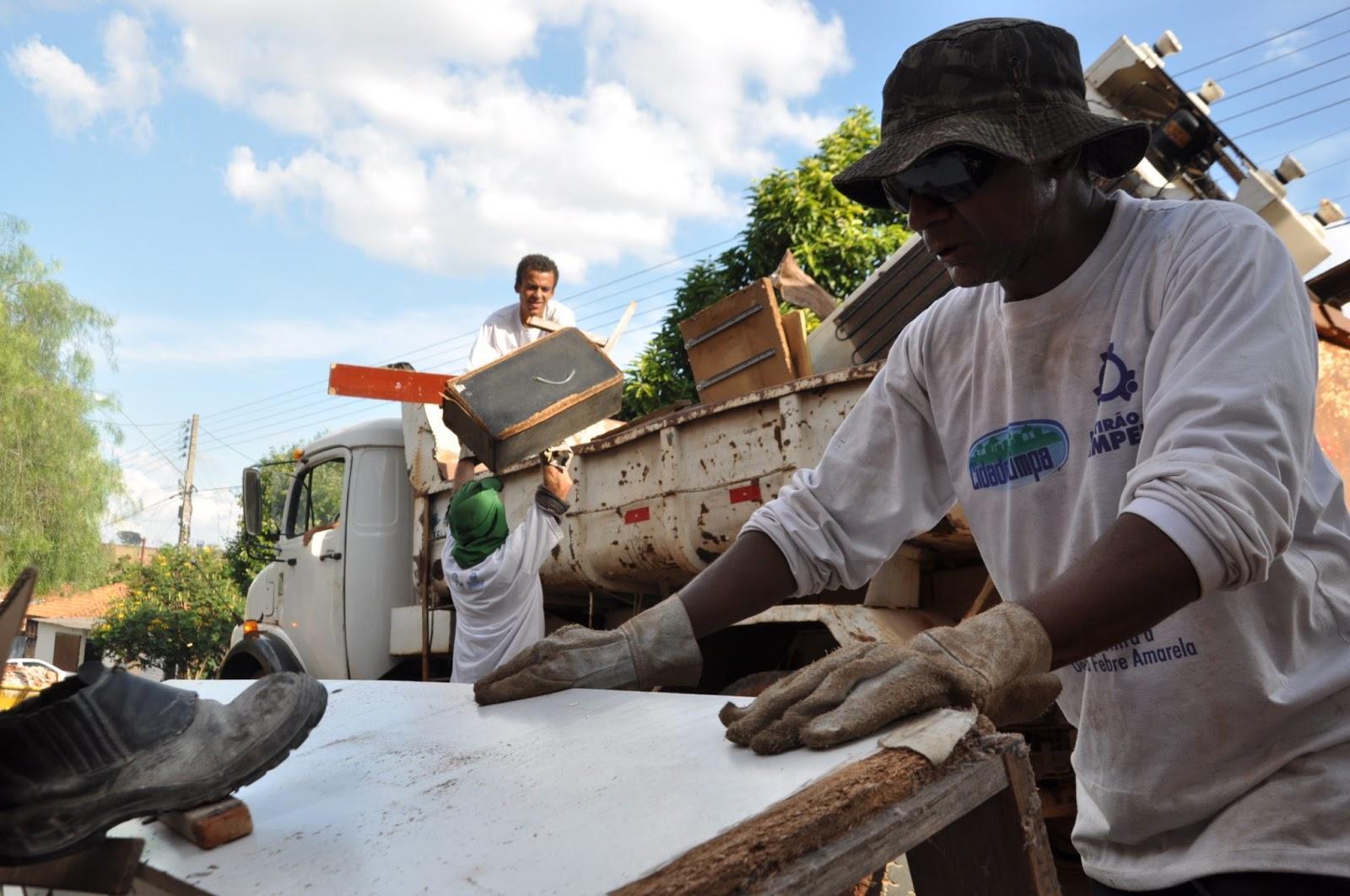 Cidade Limpa percorrerá todos os bairros de Catanduva a partir do dia 10