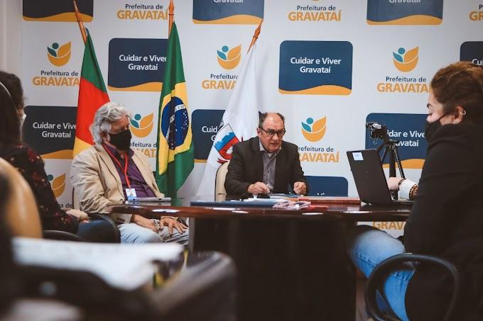 Zaffalon lança projeto do Novo Plano Diretor Municipal de Gravataí