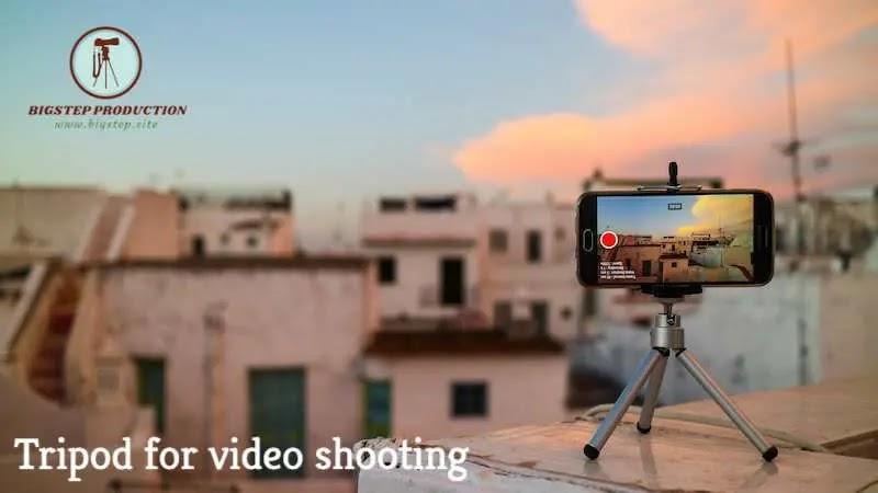 حامل ثلاثي القوائم للفيديو في التصوير - ترايبود - Tripod
