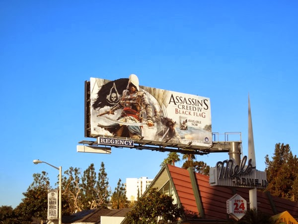 Assassins Creed 4 Black Flag game billboard