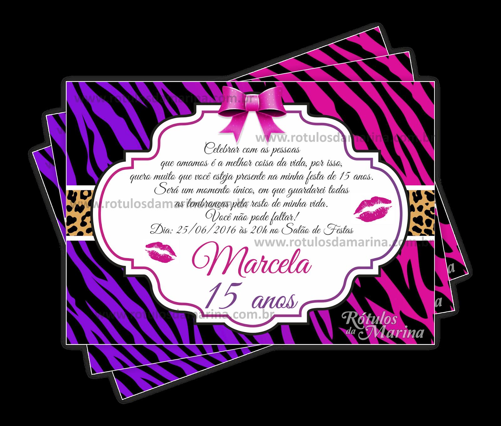 Adesivos Oncinha Rosa ~ Marina Rótulos Fashion Zebra com Oncinha Rosa e Lilás