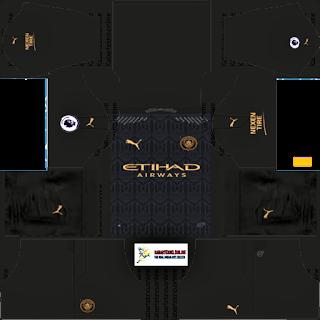 Manchester City Kits 2020/2021, Dream League Soccer 2019