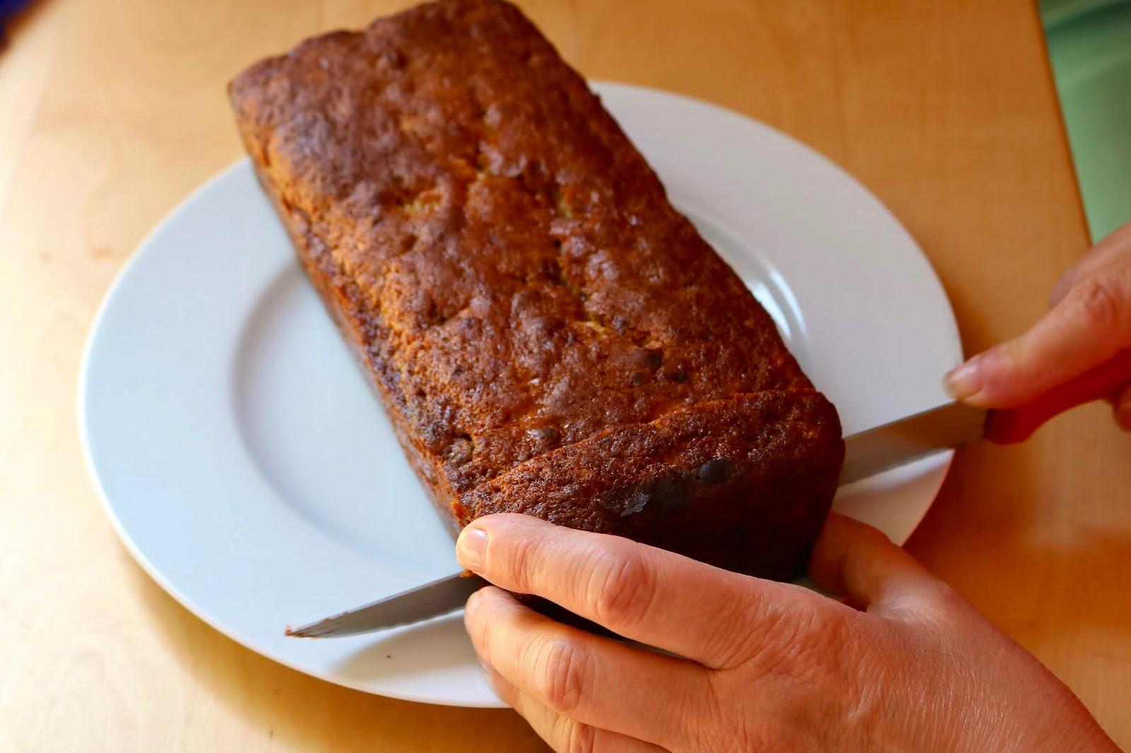 Chocolate & Banana Loaf Recipe