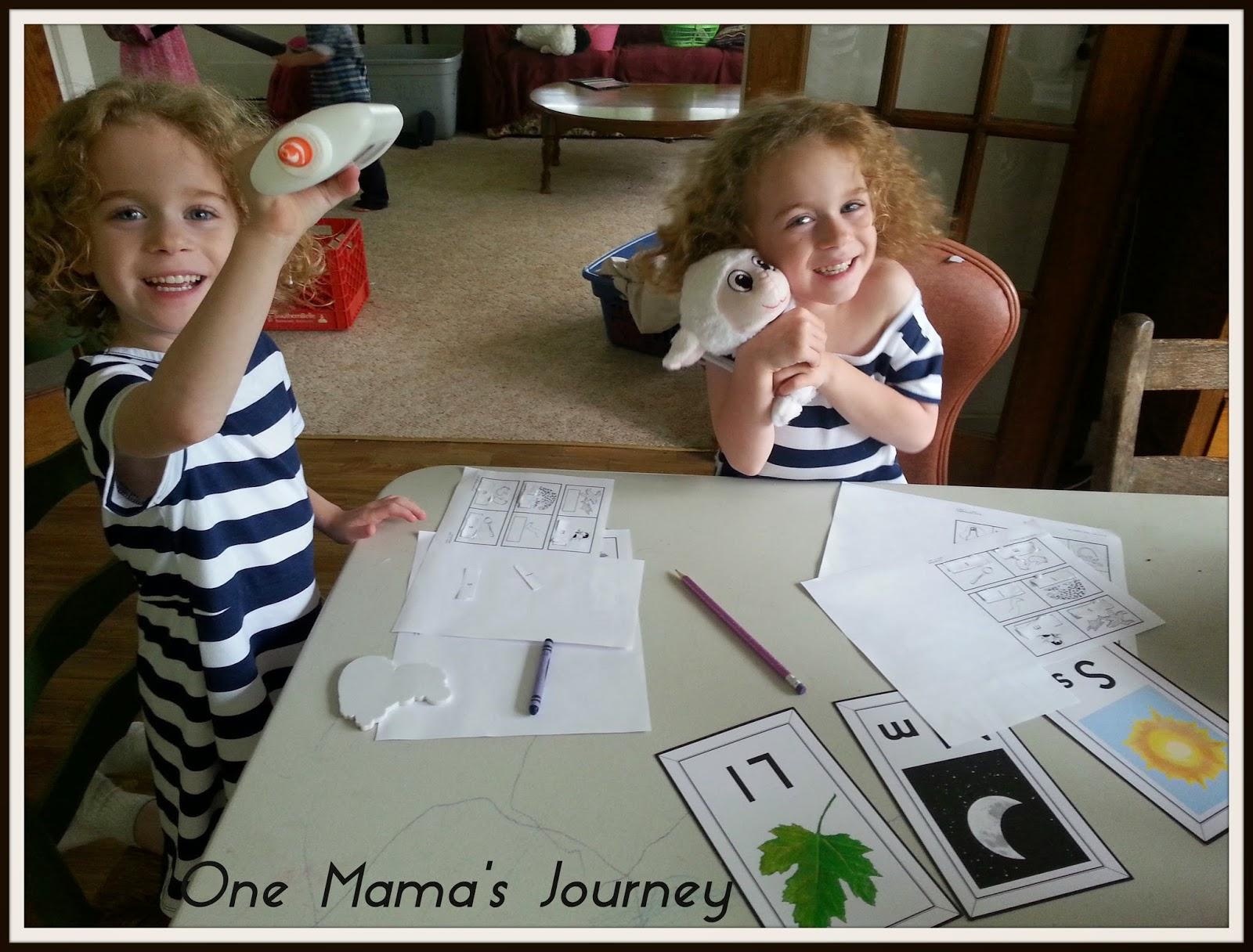 One Mama S Journey My Father S World Kindergarten Unit 1