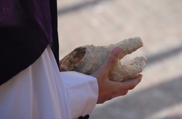 Guante de cera Nazareno Madrugá Semana Santa Sevilla
