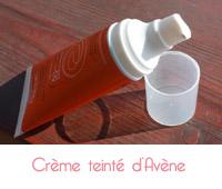 Crème solaire teintée Avène