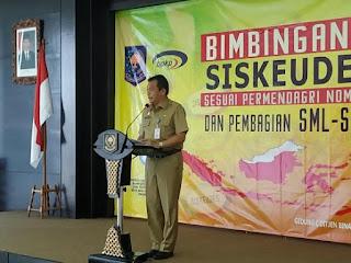 Direktur Fasilitasi Keuangan dan Aset Pemerintahan Desa, Drs. Benni Irwan, M.Si. MA., Dok : Makmur Sumarsono