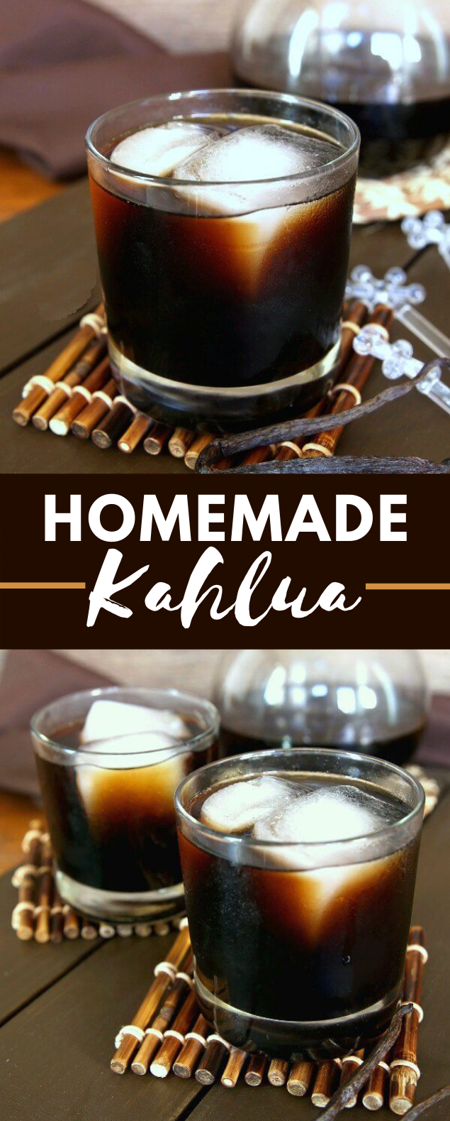 HOMEMADE KAHLUA #drinks #cocktails #homemade #easyrecipe #espresso