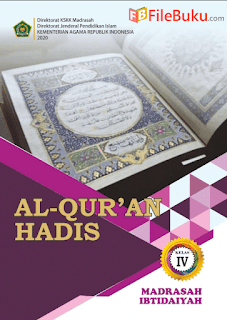 Buku Al-Quran Hadis Siswa MI Kelas 4-IV Kurikulum 2013 Revisi 2020
