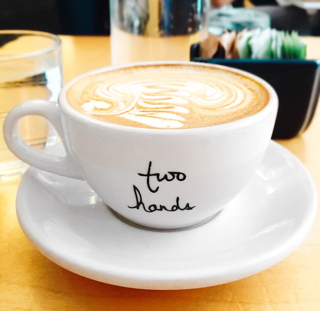 Two Hands Cafe Australia Soho NYC Coffee