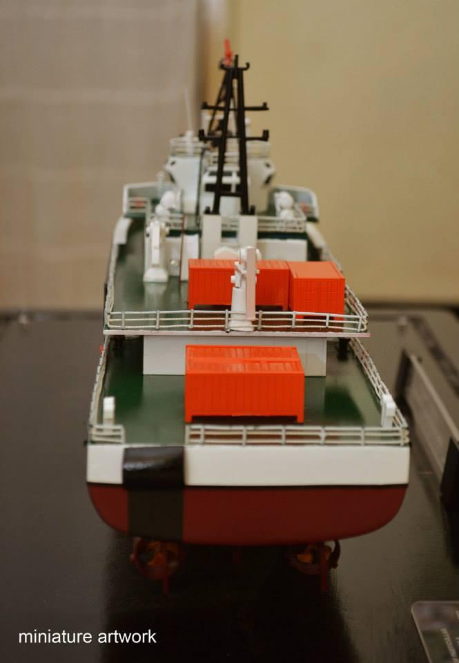 desain miniatur kapal kn trisula p111 kplp kesatuan penjaga laut dan pantai sea and coast guard rumpun artwork planet kapal terbaru