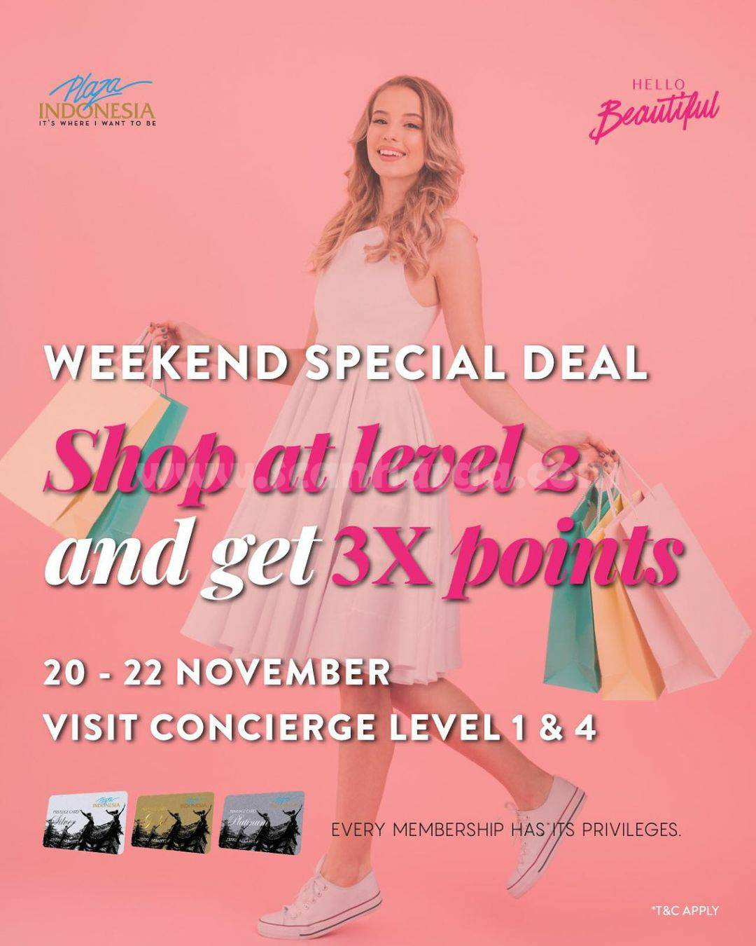 Plaza Indonesia Weekend Special Deal