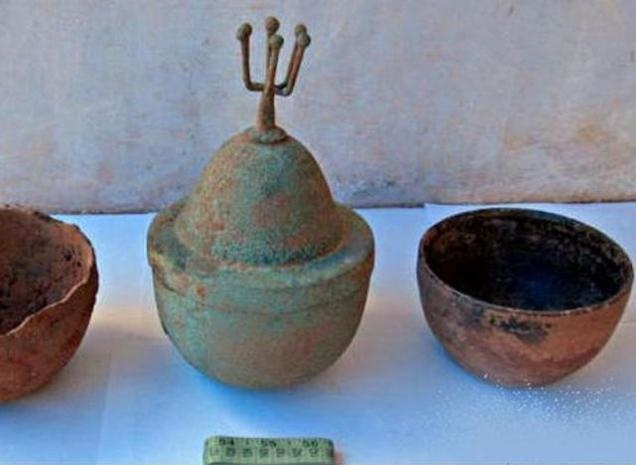 Megalithic artefacts found in Kerala's Kannur district
