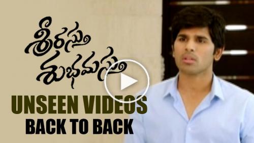 Srirastu Subhamastu Unseen Videos Back to Back