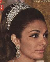 diamond palmette tiara iran empress farah diba pahlavi
