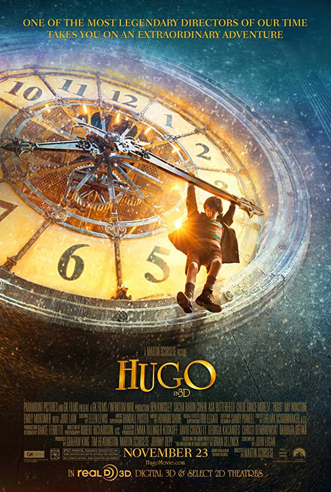 Hugo 2011 Hindi Dual Audio 720p HDRip x264 850MB Esub