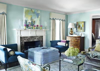 warna cat ruang tamu agar terlihat luas terbaru