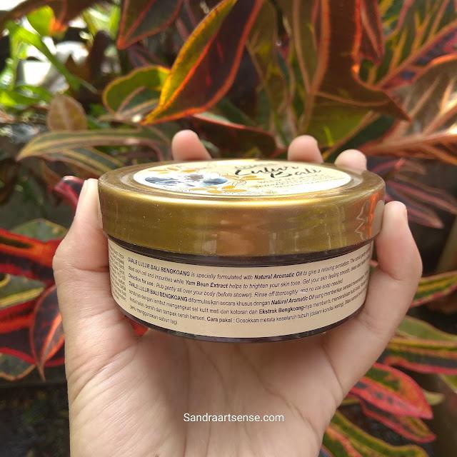 Review Ovale Lulur Bali Varian Bengkoang