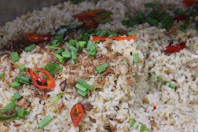 Menu Nasi goreng di Gleneagles Sabah