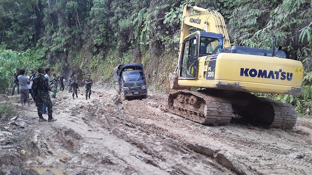 Siap Bangun Pos TNI dan Polri di Jalan Trans Wamena-Jayapura