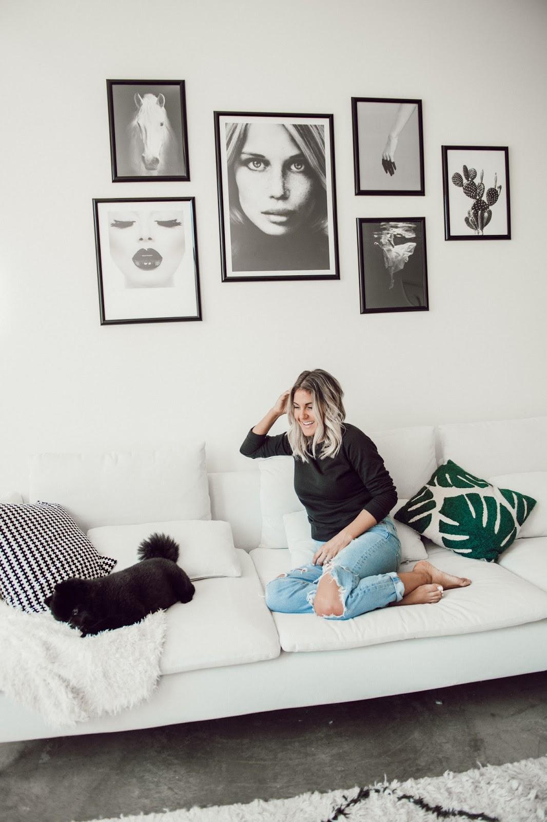 Desenio Gallery Wall Art - @taylorwinkelmeyer