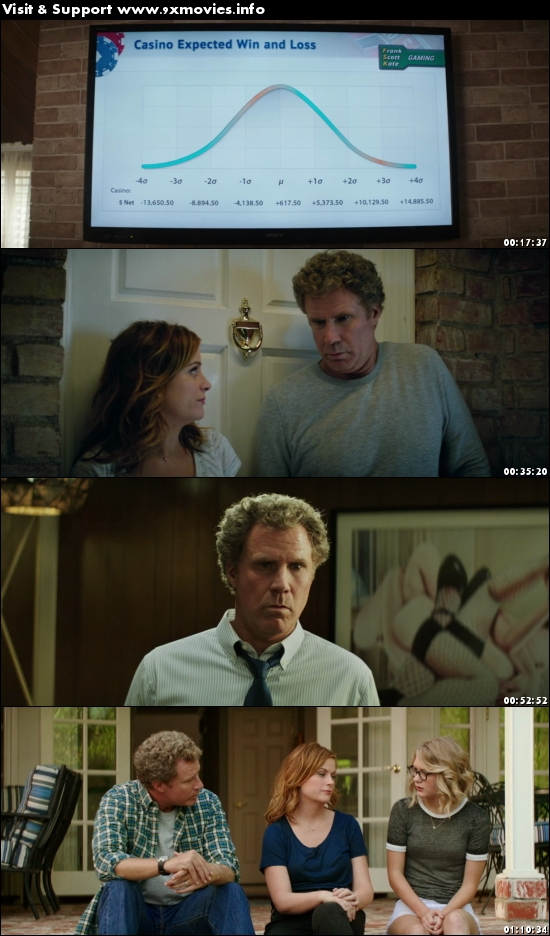 The House 2017 English 720p BRRip 800MB ESubs