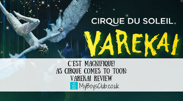 C'est Magnifique! As Cirque Comes to Toon. Review of Cirque du Soleil's Varekai in Newcastle on UK Arena Tour 2017