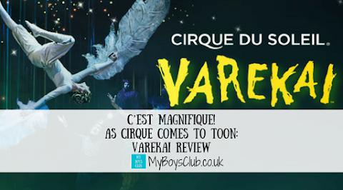 C'est Magnifique! As Cirque Comes to Toon:  Varekai (REVIEW)