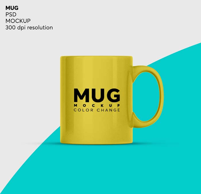 Isolated Coffee Mug Tea Cup Mockup