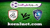 تفاصيل مباراة الهلال السعودى والشباب اليوم 23-9-2021 الدورى السعودى