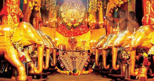 Ettumanoor Temple: The seven and a half Ponnana History I know some legends