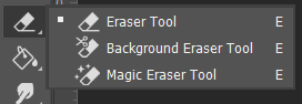 Eraser Tool  Toolbox Adobe Photoshop