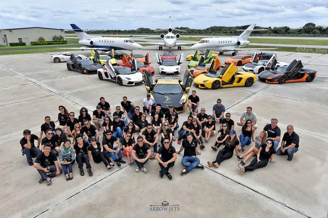 Đoàn siêu xe của Gia Lai Team diễu hành trên đất Mỹ lần thứ 3