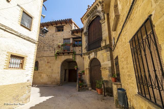 Portal Capilla de San Roque - Cretas, Matarraña