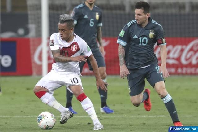 Perú cae 0-2 ante Argentina, resumen y goles