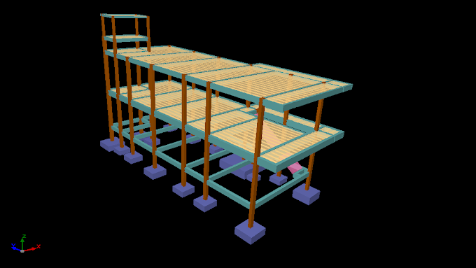 Estrutura dimensionada manualmente