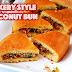 Bakery Style Coconut Bun/டீ கடை தேங்காய் பன்