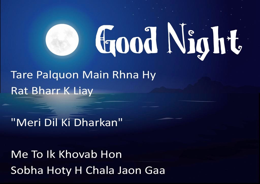 Friend Good Night Quotes In Urdu